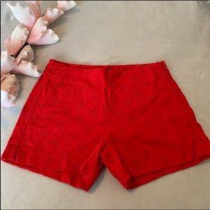 🌺2/$15🌺Banana republic red shorts size 4